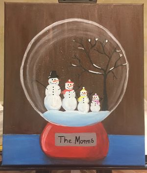 Personalized hand painted snow globe for Sale in Hurricane, WV
