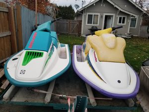 93 and 95 Seadoo's for Sale in Tacoma, WA