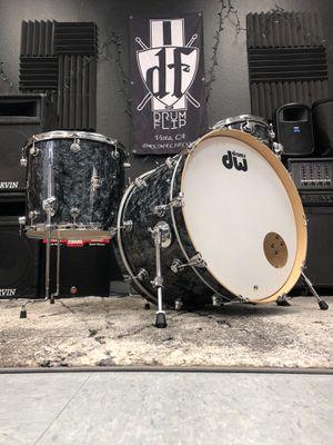 DW 3pc Performance Maple Black Diamond Drum Set for Sale in Vista, CA