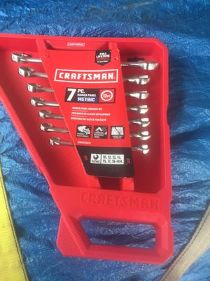 Craftsman wrench set for Sale in Morgantown, WV