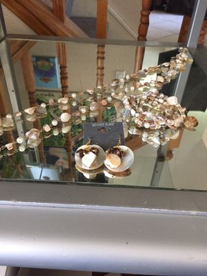 Shell jewelry set for Sale in Rancho Cucamonga, CA