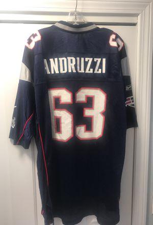 Joe andruzzi Patriots Jersey Size XL for Sale in Johnston, RI