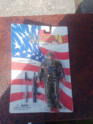Soldier action figure for Sale in Seattle, WA