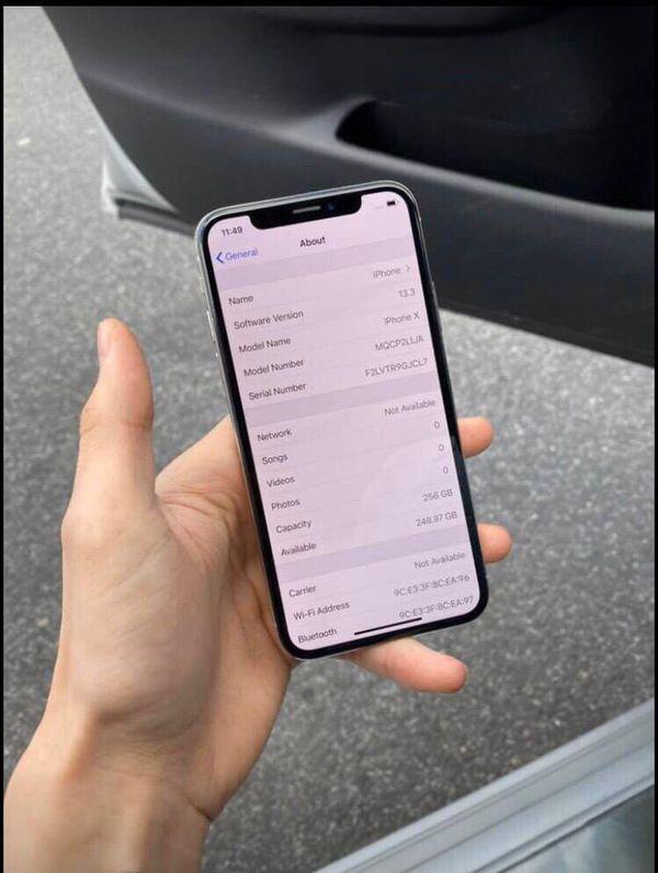 I phone X max