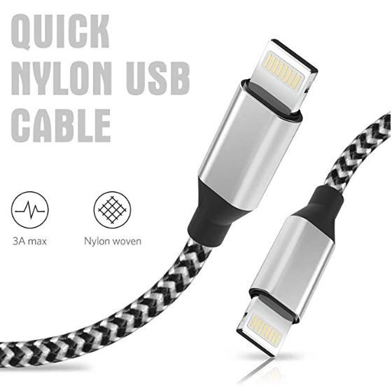 FREE!! iPhone / iPad MFi Certified Lightning Cable 6' Long!