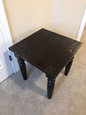World Market End Table - Indian Hardwood for Sale in Knightdale, NC