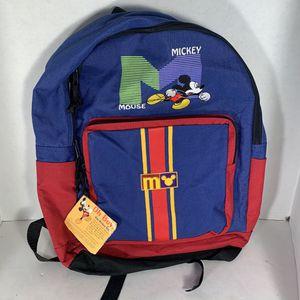 Vinatge 1999 Disney Mickey Mouse Backpack for Sale in Coronado, CA