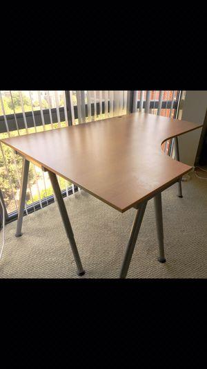 Like NEW IKEA Desk- previously $250 for Sale in Alexandria, VA
