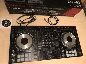 Pioneer DDJ-SZ Professional DJ Controller for Sale in Concord, CA