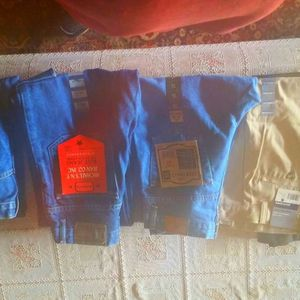 Lot Of 5 New With Tags Children's Boys Dress Pants & Jeans Size 14-16 for Sale in Phoenix, AZ