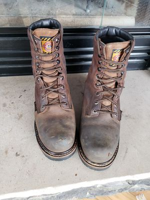 Justin work boots for Sale in Sutersville, PA