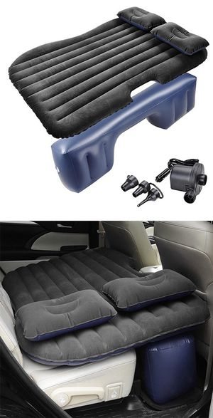 """New $25 Inflatable Mattress Car Air Bed Backseat Cushion w/ Pillow Pump 54x33"""" for Sale in City of Industry, CA"""