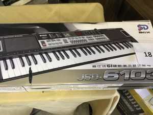 Brand New LED Electronic Musical Keyboard 61 Key for Sale in Fresno, CA