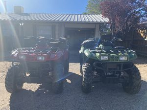 2 2012 Kawasaki Prairie ATVS with trailer for Sale in Rio Rancho, NM
