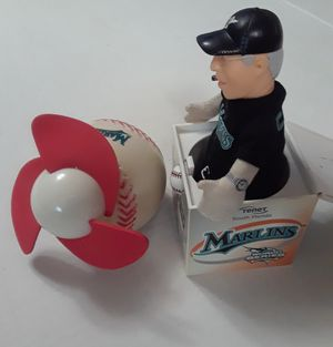 Florida Marlins 2003 World Series Collectibles Both Toys 65.00 (New) for Sale in Miami, FL
