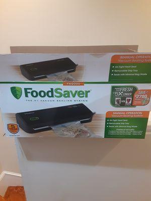 Fm 2000 foodsaver for Sale in Boston, MA