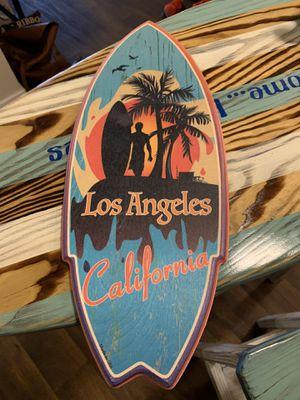 Wooden Surfboard - LA for Sale in Lake Oswego, OR