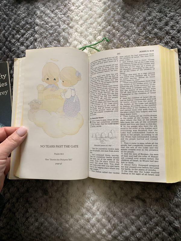 Precious moments bible collectors edition