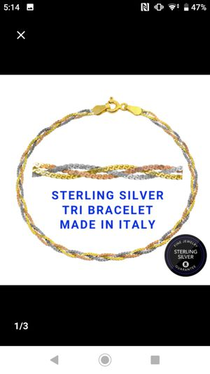 "925 sterling silver 7"" bracelets for Sale in Falls Church, VA"