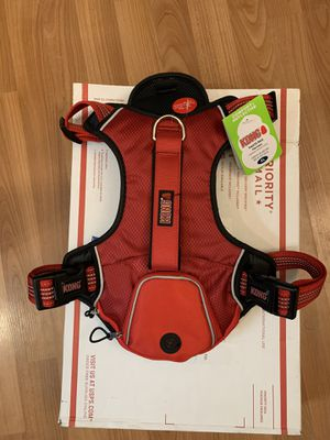 Kong Harness XL Comfort and Reflective with Waste Bag Pocket for Sale in Sully Station, VA