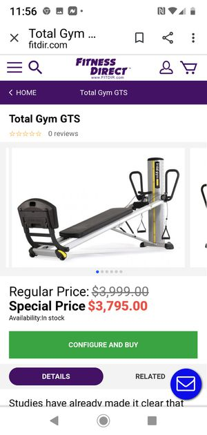 Total Gym GTS for Sale in Escondido, CA