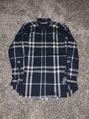 Burberry Brit men's L nova check shirt for Sale in Olympia, WA