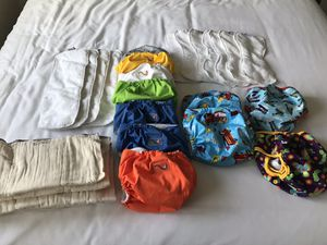 11 cloth diapers and inserts for Sale in Lewis McChord, WA