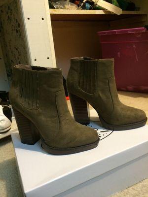 Zara high heel suede ankle boots for Sale in Alexandria, VA