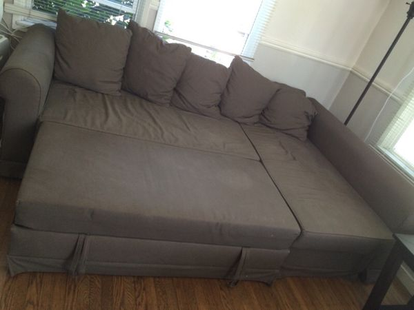 Awesome Ikea Moheda Corner Sofa Bed Couch For Sale In Redwood City Creativecarmelina Interior Chair Design Creativecarmelinacom