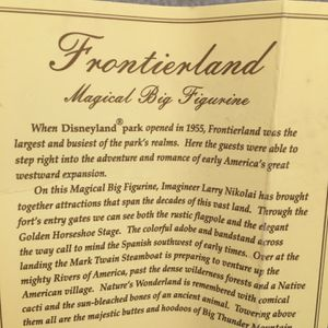 Disney Frontierland Magical Big Figurine OBO for Sale in San Bruno, CA