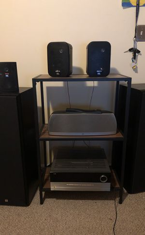 Stereo System W/ remote and 1 Auxiliary cord for Sale in Cary, NC
