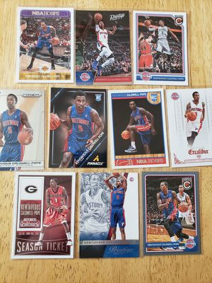 Kentavious Caldwell-Pope Detroit Pistons NBA basketball cards for Sale in Gresham, OR