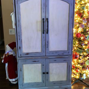 Armoire - VERY NICE heavy piece bought to make a liquor cabinet for Sale in Smyrna, TN