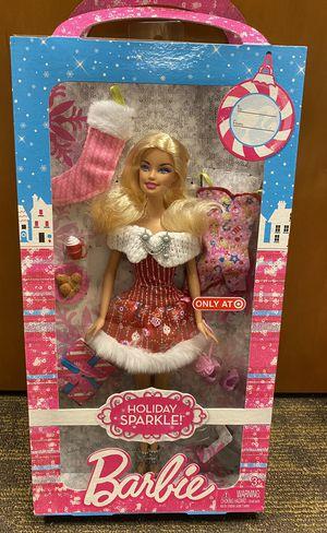 Target Holiday Sparkle Barbie for Sale in Douglasville, GA