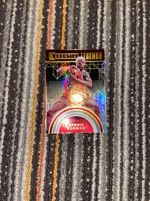 Dennis rodman Bulls basketball card for Sale in Fitchburg, MA