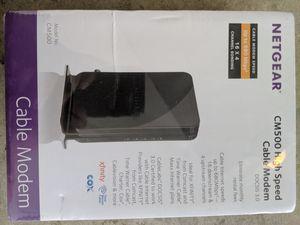 Netgear cm500 cable modem for Sale in Garden Grove, CA