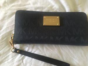 MK navy blue wallet for Sale in San Leandro, CA