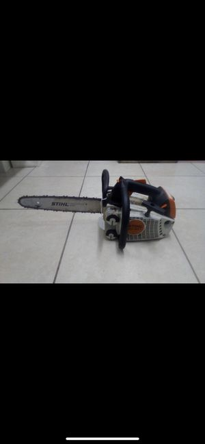 """STIHL MS 193 T 14"""" Gas Powered Chainsaw for Sale in Largo, FL"""