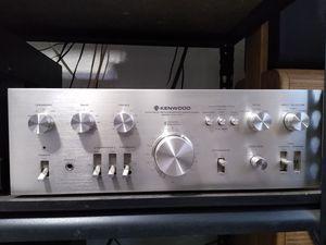 Kenwood Ka-7300 Stereo amplifier. Front looks great. Nice heavy duty amplifier works great for Sale in Delano, CA