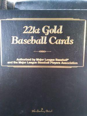 22kt baseball cards. Danbary mint for Sale in Tacoma, WA