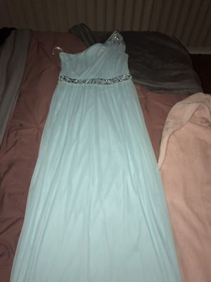 Light blue prom dress/ sweet 16 for Sale in Chicago, IL