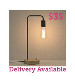 Modern Industrial Table Lamp (without Bulb) for Sale in Cicero,  IL