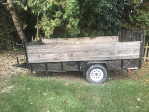12 ft long open trailer for Sale in Warrenville, IL