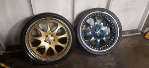 2pc 23 inch rims have all 4 for Sale in Oakland, CA