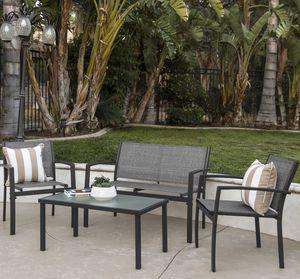 4 Piece Metal Furniture Set for Sale in Tampa, FL