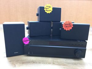 Insignia Stereo Receiver w/ Speakers for Sale in Largo, FL