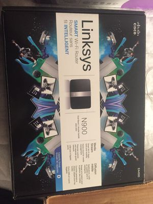 Linksys N900 Router (Up to 450mbps) for Sale in San Diego, CA