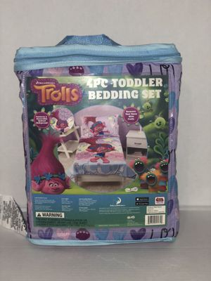 Trolls toddler bed set for Sale in Pennsburg, PA