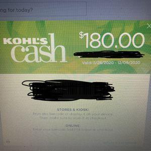 Kohls Cash for Sale in Elk Grove, CA