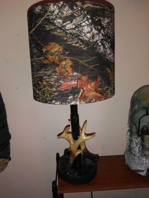Camo lamp for Sale in Sunbury, PA